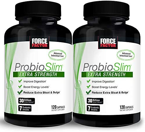 Force Factor Probioslim Extra Strength 120ct 2 Pack 240 Count product image
