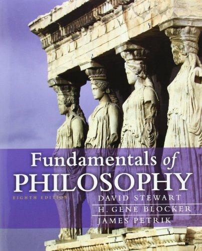 Fundamentals of Philosophy (8th Edition) (Mythinkinglab)
