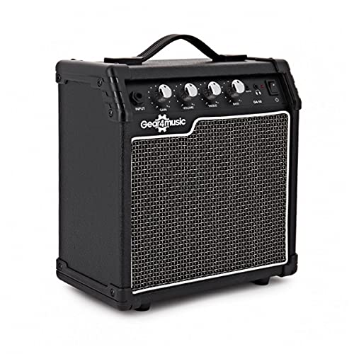 Compact 10W Electric Guitar Practice Amp by Gear4music