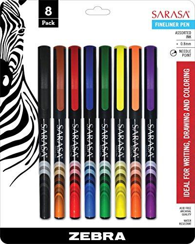 Zebra Sarasa Fineliner Pen