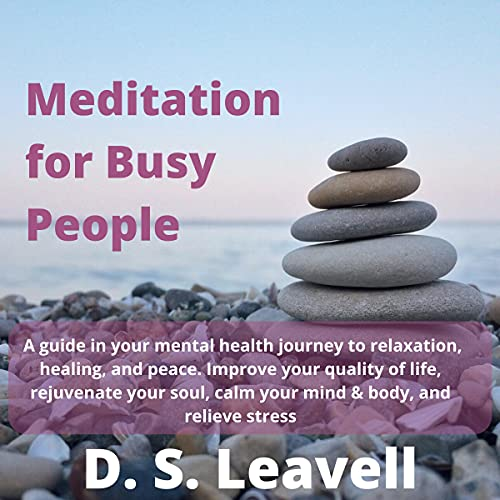 Couverture de Meditation for Busy People