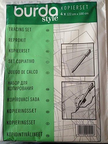 Burda Style Nähzubehör: Kopierset: Kopierfolie und Stift, [Art.Nr.: 1022]