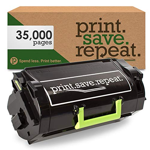 Print.Save.Repeat. Lexmark 24B6020 High Yield Remanufactured Toner Cartridge for XM7155, XM7163, XM7170 [35,000 Pages]