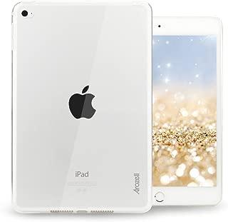 arozell iPad Mini 4 Case, iPad Mini 4/5 Crystal Clear Armor Slim-Fit TPU Case Cover for Rugged, Stylish Protection of Your iPad Mini 4/5 (2015/2019 Model)