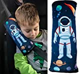 HECKBO Weltraum Space Astronaut Auto Schlafkissen für Kinder - maschinenwaschbar – kuschelweich -...