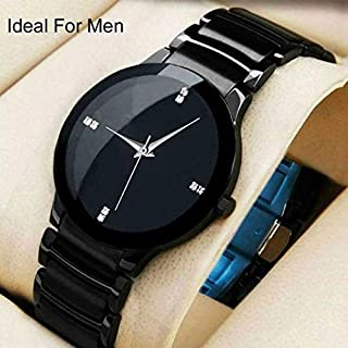 LEVERET Analogue Black Dial Men's & Boy's Watch Analog Watch - for Men