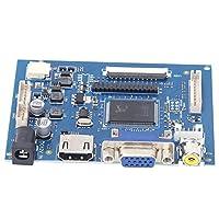 LCDドライバーボード、プラグアンドプレイ耐久性のある12V電源LCD TFTディスプレイモジュール、家庭用コンピューターディスプレイ用の1024X600物理解像度