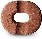 FGDFGDG Cojín de Asiento Cómodo Memoria Espuma Donut Almohada para el Tratamiento de hemorroides Prostar Embarazo Asiento Asiento Cojín Cojines,Marrón