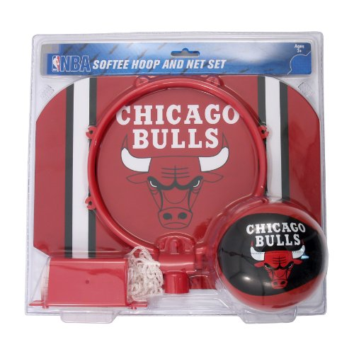 Rawlings NBA Slam Dunk Softee Hoop Set, Keines, Chicago Bulls