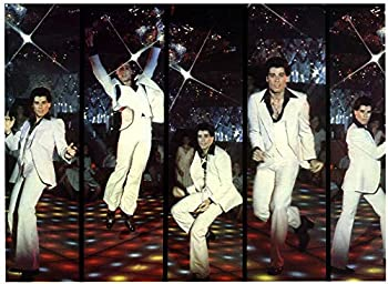 Posterazzi EVCMMDSANIEC002 Saturday Night Fever John Travolta 1977 Photo Print 8 x 10 Multi