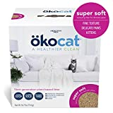 ökocat Super Soft Natural Wood Clumping Litter, Large
