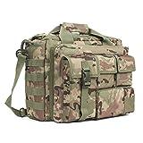 GES Multifunktions Herren Dame Outdoor Militärische Taktische Nylon Schulter Laptop Umhängetasche...