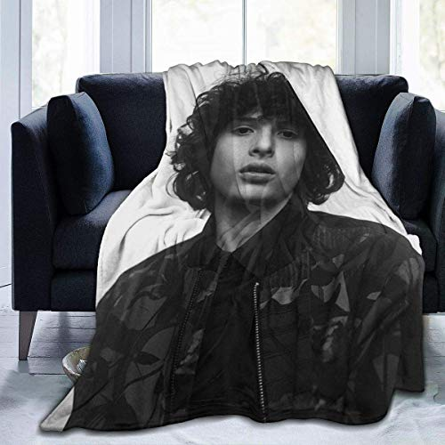 shenguang Throw Finn Wolfhard Manta Fit Bed- Fluffy Fleece Manta Cozy for Couch