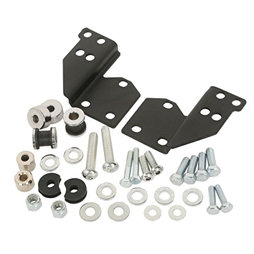 TCMT Detachables Front Docking Hardware Kit Fits for Harley Road King Electra Glide 1997-2008 Replace 53803-06