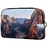Geschenke für Männer Frauen Schminktasche Kulturbeutel Kleine Kosmetiktasche - Canyon Mountains Naturlandschaft, Muttertagsgeschenk