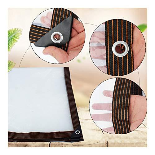AWSAD Impermeable Lona de Protección Cobertizo Tela Toldo Sombrilla Doble Cara Impermeable Al Aire Libre Mueble Jardín Proteccion, 24 Tamaños (Color : A, Size : 3x4m)