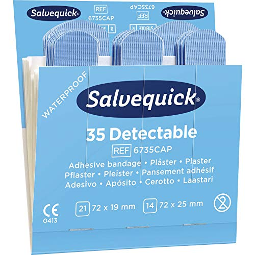 SALVEQUICK waterafstotende pleisters REF 51030127 voor dispenser