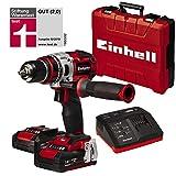 Einhell 4513851 Trapano Avvitatore Te-CD 18 Li Bl, Power X-Change, Ioni di Litio, 2X Batterie 2.0 Ah, 2 Caricabatterie, 60 NM, Mandrino 13 mm, 18 V, I