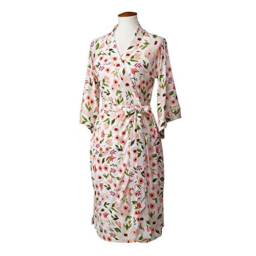 LÍLLÉbaby Cozy Robe for Maternity & Post-Partum Comfort, Bloom- L/XL