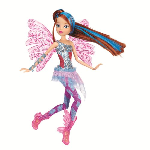 WINX Club BLOOM 11.5' Deluxe Fashion Doll Sirenix collection Color Change Hair (8 Pieces)
