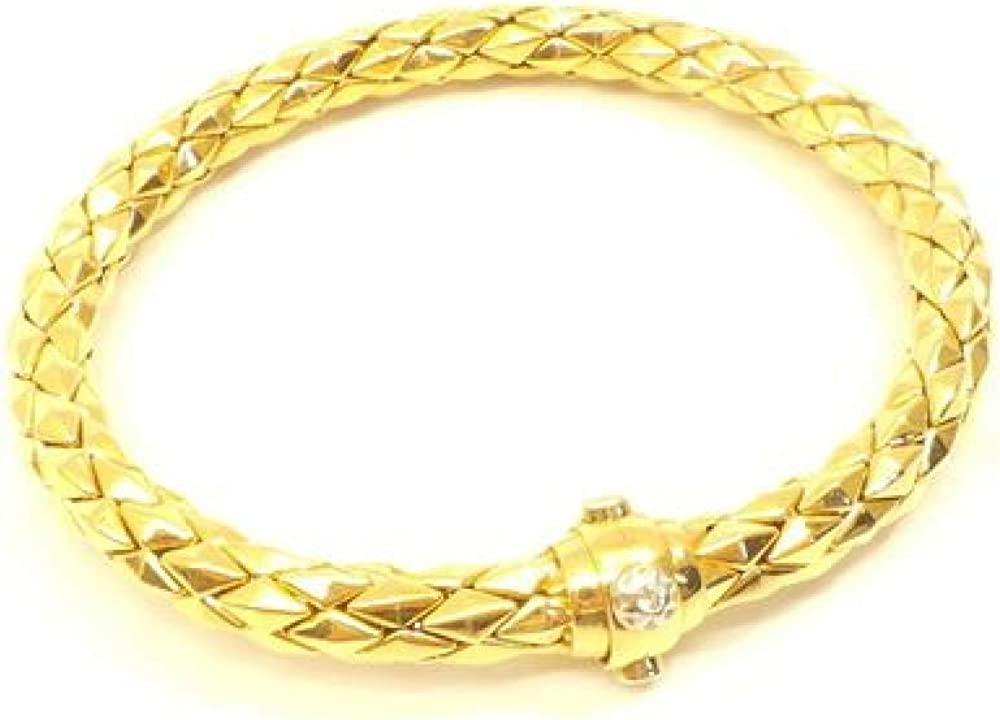 Chimento,bracciale per donna, in oro rosa lucido (22,4 gr) e diamante 0,03 ct 08186XBC4790224