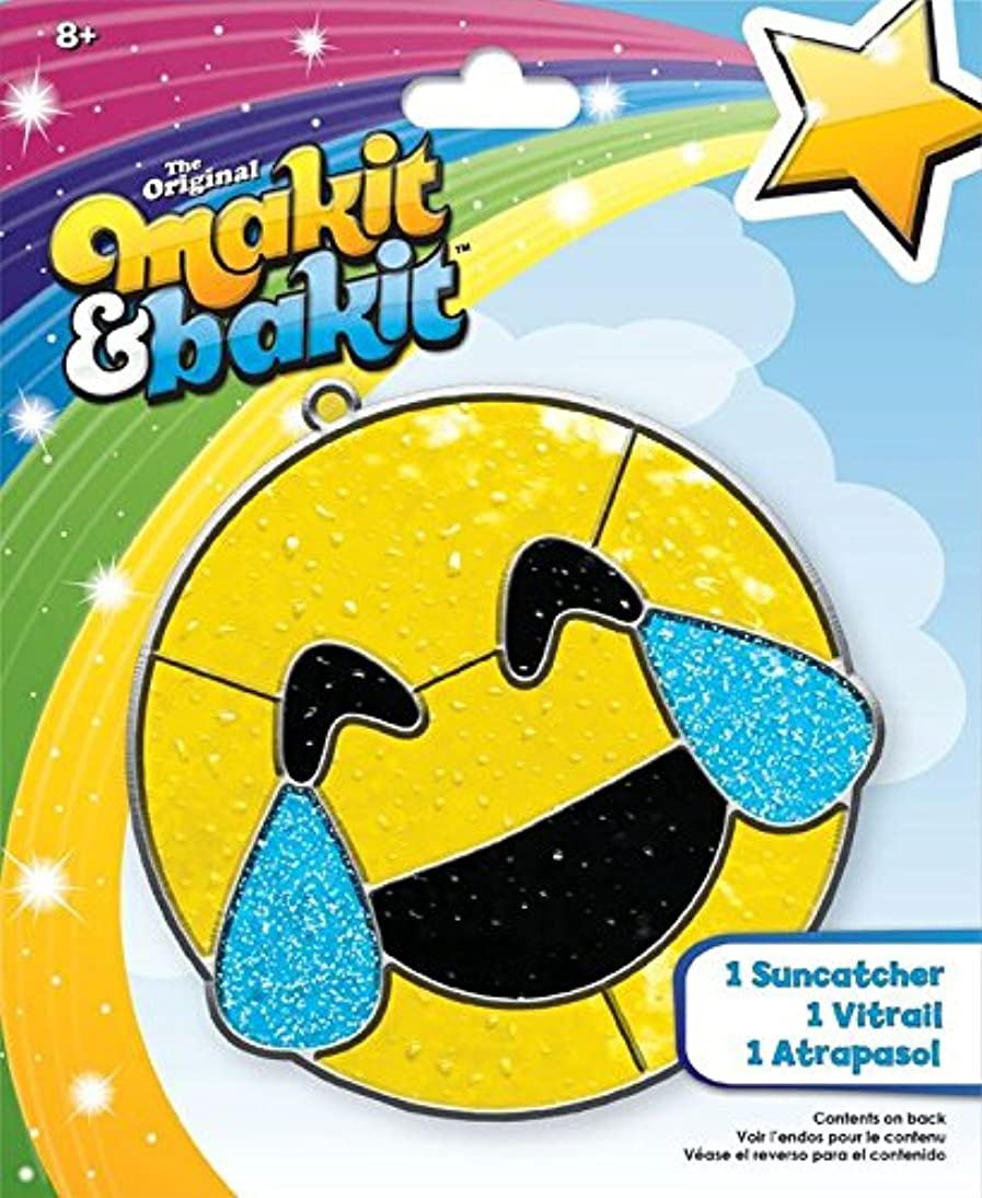 Colorbok MIBI Emoji Happy Tears Suncatcher Kit