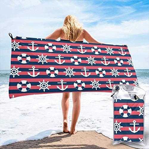 N/A zeeman strepen ahoy strand snel drogen handdoek microvezel yoga fitness absorberende handdoek outdoor klimmen snel drogen handdoek