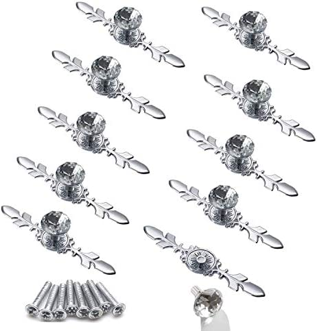 Ymaiss 10pcs Crystal Cabinet Knobs Drawer Diamon Max 81% OFF Free shipping on posting reviews Dresser Handles