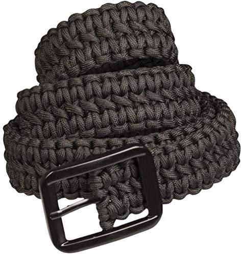 Mil-Tec Paracord Belt Black 130cm