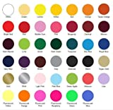 SISER EASYWEED Heat Transfer Vinyl for Textile (Choose from 38 Colors EASYWEED and 6 NEON Colors - UP to 5 Yard - 15') ONE Color PER Yard. Mix and Match PER Yard