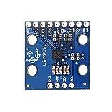 WANGJUN LSM9DS 9 modulo sensore di accelerazione Axis Gyro magnetometro misura inerziale Accelerometer Unità IMU