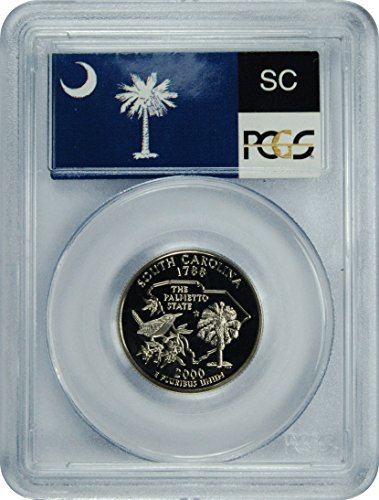 2000 S South Carolina Statehood South Carolina Statehood Quarter DCAM PCGS PR-70