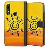 DeinDesign Étui Compatible avec Huawei P Smart Z Étui Folio Étui magnétique Naruto Shippuden...