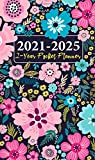 2021-2022 2-Year Pocket Planner: Schedule Organizer for Purse 4 x 6.75 inches 24-Month Calendar | Jan 2021 to Dec 2022 | Federal Holidays, Contacts, Birthdays and Passwords log | Colorful Floral Cover