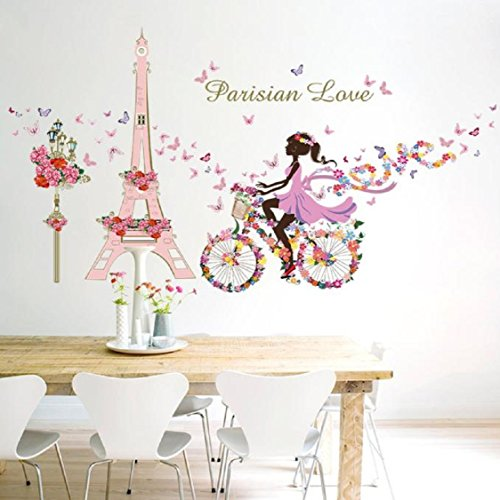Vovotrade Stickers muraux Romance Décoration murale Poster bricolage Home Decor