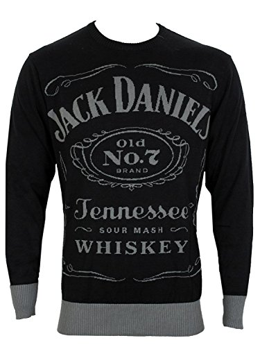 Jack Daniel's - Black. Knitted Sweater - L
