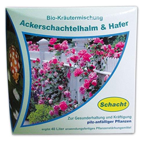 Schacht 1kmpilz200 Bio-Kräutermischung Ackerschachtelhalm & Hafer 200 g zur Gesunderhaltung pilz-anfälliger Pflanzen