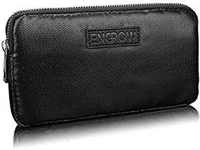 Fireproof Power Bank Carrying Case,Generic Fire Resistant Organizer Accessories Bag Fire Safe Portable Charger Hard Drive Bag Travel Storage for Anker Power Bank,My Passport Essential,USB Cable