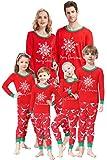 Matching Family Pajamas Christmas Boys and Girls Pyjamas 2 Piece PJs for Women XS
