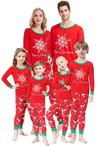 Matching Family Pajamas Christmas Boys and Girls Pyjamas 2 Piece PJs for Men