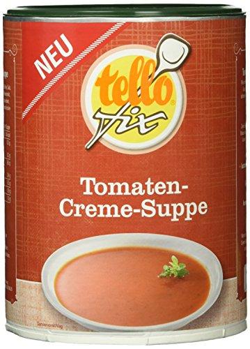 tellofix Tomaten-Creme-Suppe, 1er Pack (1 x 500 g)