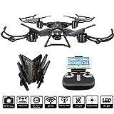 S59 Foldable Selfie Drone con Telecamera WiFi FPV 2.4Ghz,Drone Telecomandato Funzione,bambini giocattoli Video Toy Drone da...