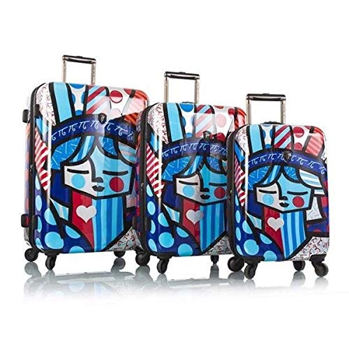 For Sale! Heys America Romero Britto Freedom 3-pc Spinner luggage