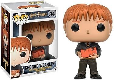 Funko Harry Potter George Weasley Pop Figure,Orange