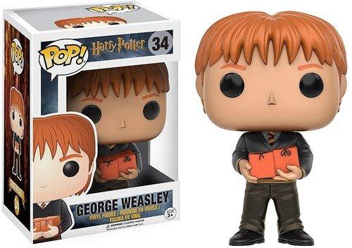 Funko- George Weasley Figura de Vinilo, colección de Pop, seria Harry Potter (10986)