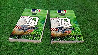 Pro Baseball Team Cornhole Boards, ACA Regulation Size, Comes with 2 Boards and 8 Corn Hole Bags