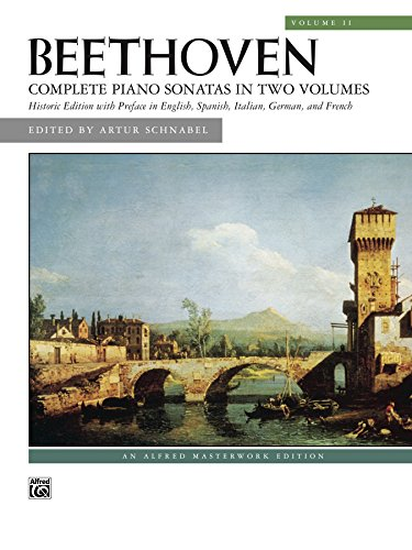 Sonatas, Volume 2: For Late Intermediate to Advanced Piano (Alfred Masterwork Edition) (English Edition)