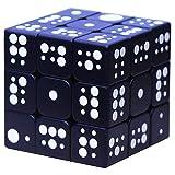Cubo de Velocidad para invidentes, Braille 3D Estéreo con Huellas Dactilares Rubiks Cubo 3x3 En Relieve Personalidad Puzzle para niños- Caja de Pandora,B