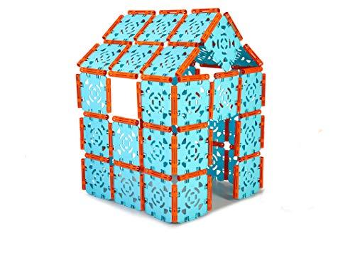 FEBER - Konstruktionsspiel der verbindbaren Paneele für Jungen und Mädchen ab 3 Jahren (Famosa 800012608)