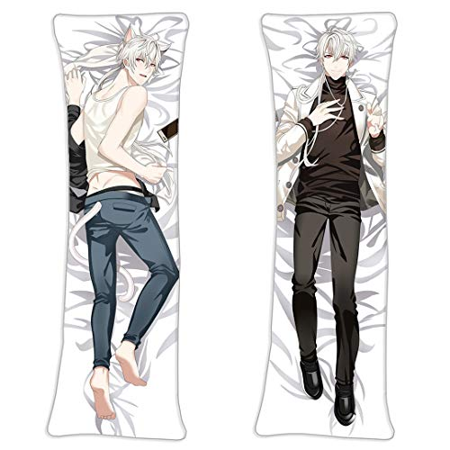 Zen Hyun Ryu Mystic Messenger Male Body Pillowcase 2 Way Tricot 150cmx50cm(59inx19.6in) Japan Cosplay Long Anime Hugging Pillow Cover